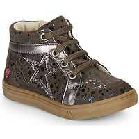 Shoes Girl High top trainers GBB NAVETTE Taupe