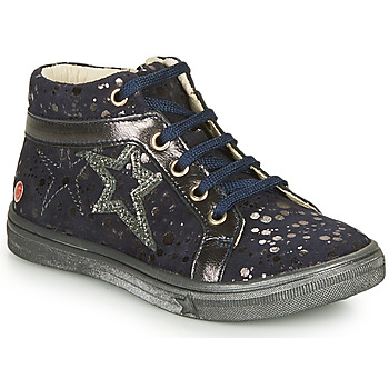 Shoes Girl High top trainers GBB NAVETTE Marine