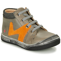 Shoes Boy High top trainers GBB OLINOU Grey