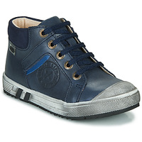Shoes Boy High top trainers GBB OLANGO Marine