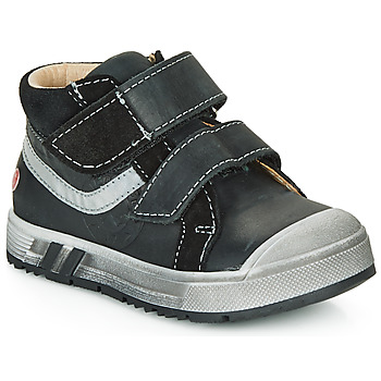 Shoes Boy High top trainers GBB OMALLO Black