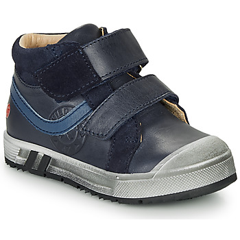 Shoes Boy High top trainers GBB OMALLO Marine