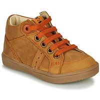 Shoes Boy High top trainers GBB ANGELITO Cognac