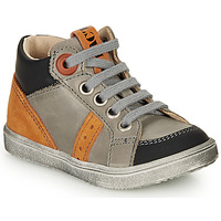 Shoes Boy High top trainers GBB ANGELITO Orange