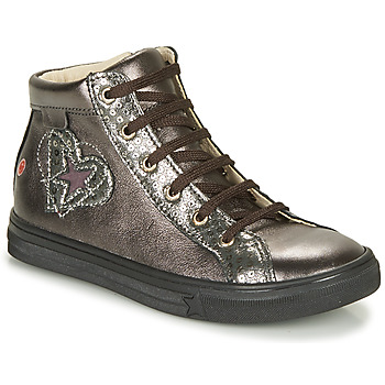 Shoes Girl High top trainers GBB MARTA Grey