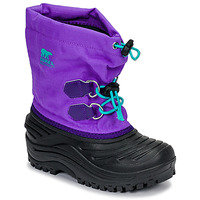 Shoes Children Snow boots Sorel CHILDRENS SUPER TROOPER Black / Violet