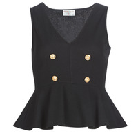 material Women Blouses Moony Mood KILLE Black