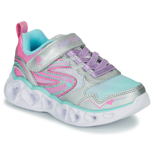 cheapest price cheap sale outlet online Skechers HEART LIGHTS Silver / Pink / Led - Fast delivery ...