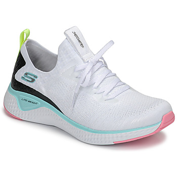 Shoes Women Fitness / Training Skechers FLEX APPEAL 3.0 White / Pink / Blue
