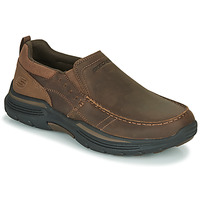 Shoes Men Loafers Skechers EXPENDED Brown
