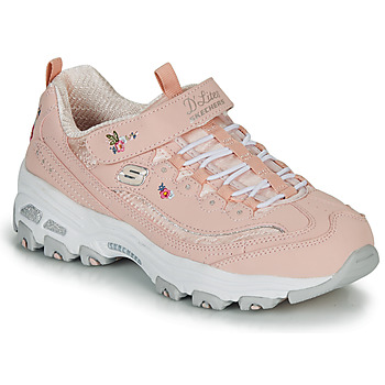 Shoes Girl Low top trainers Skechers D'LITES Pink