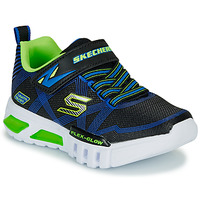 Shoes Boy Low top trainers Skechers SKECHERS BOY Blue / Green