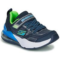 Shoes Boy Low top trainers Skechers SKECHERS BOY Blue / Green