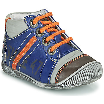 Shoes Boy Mid boots GBB ISIS Blue / Orange