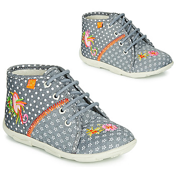 Shoes Girl Slippers GBB GANLANTINE Grey