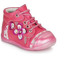 Shoes Girl Mid boots Catimini CYLENE Pink