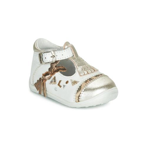 Shoes Girl Ballerinas Catimini CANETTE White