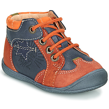 Shoes Boy Mid boots Catimini CARACAL Blue