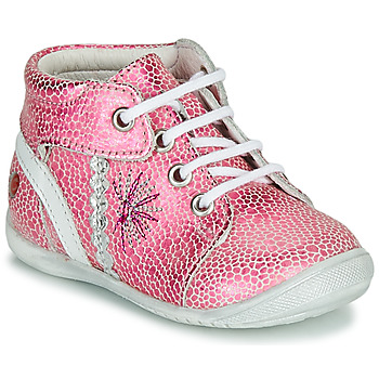 Shoes Girl Mid boots GBB MELANIE Pink