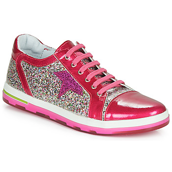 Shoes Girl Low top trainers Ramdam KASAI Pink