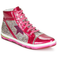 Shoes Girl High top trainers Ramdam KATO Pink