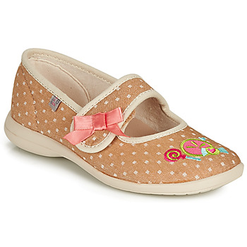 Shoes Girl Slippers GBB MELINA Beige