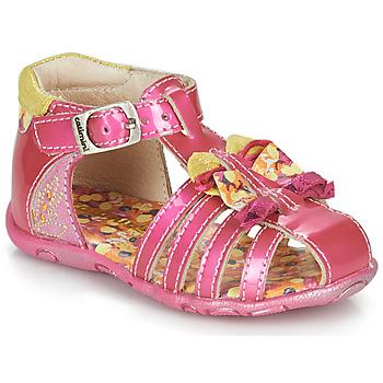 Shoes Girl Sandals Catimini CYGNE Pink
