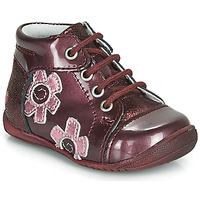 Shoes Girl Mid boots GBB NEIGE Bordeaux