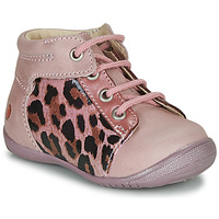 Shoes Girl Mid boots GBB NELLY Pink / Black