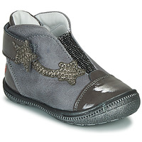 Shoes Girl Mid boots GBB NOLWENN Grey