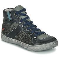 Shoes Boy Mid boots GBB NESTOR Kaki / Marine