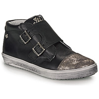 Shoes Girl High top trainers Ikks BIANCA Black
