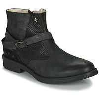 Shoes Girl Mid boots Ikks JANE Black
