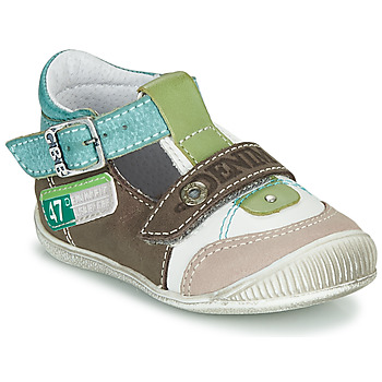 Shoes Boy Sandals GBB PAUL Brown / Green / Blue