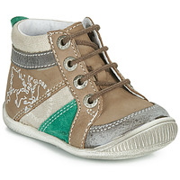 Shoes Boy Mid boots GBB PRAGUE Brown