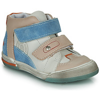 Shoes Boy High top trainers GBB PATRICK Grey / Blue
