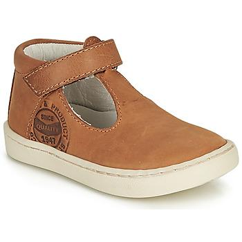 Shoes Boy Sandals GBB PRESTON Cognac