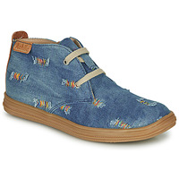 Shoes Girl High top trainers Achile ANDREA Blue