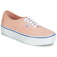 Shoes Women Low top trainers Vans AUTHENTIC PLATFORM 2.0 Pink