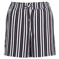 material Women Shorts / Bermudas Only ONLPIPER Marine / White