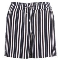 material Women Shorts / Bermudas Only ONLPIPER Marine / White