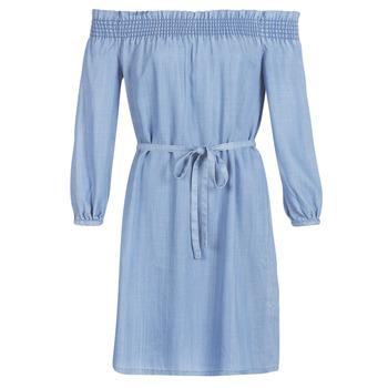 material Women Short Dresses Only ONLSAMANTHA Blue