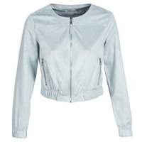 material Women Leather jackets / Imitation leather Only ONLLEONA Blue