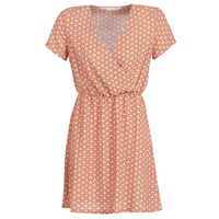 material Women Short Dresses Only ONLTULIPE Orange
