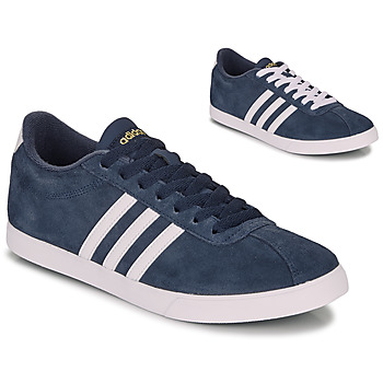 Shoes Women Low top trainers adidas Originals COURTSET N AVY Marine