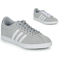 Shoes Women Low top trainers adidas Originals COURTSET GRIS Grey