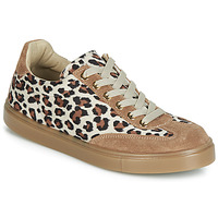 Shoes Women Low top trainers André ARDOISE Leopard