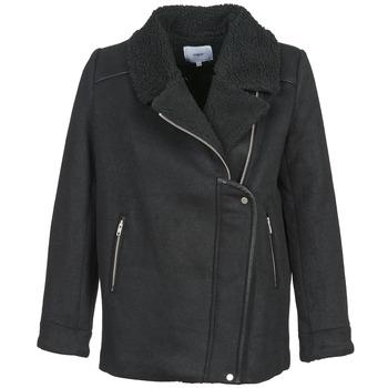 material Women coats Suncoo ERWAN Black