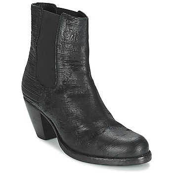 Shoes Women Ankle boots Fred de la Bretoniere ALMERE Black