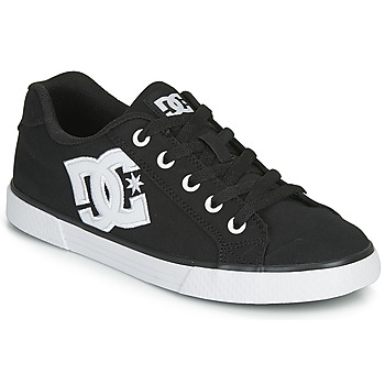 Shoes Women Skate shoes DC Shoes CHELSEA TX Black / White